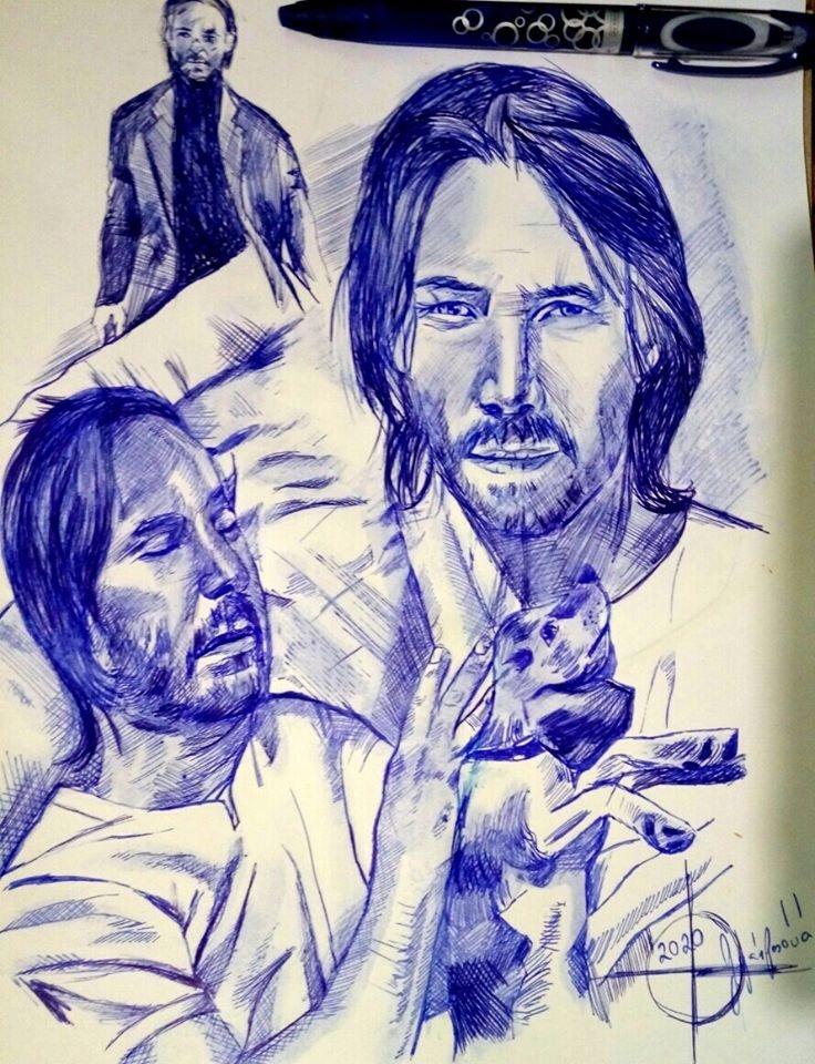 Keanu Reeves por lilie1111
